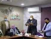 محافظ الوادى الجديد يتابع تدريب العاملين بمركز لذوى الاحتياجات الخاصة
