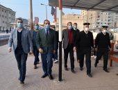 جولة تفقدية لمحافظ كفر الشيخ لتطبيق الإجراءات الاحترازية وارتداء الكمامة