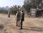 رئيس مدينة مغاغة بالمنيا يتفقد أعمال التطوير والمشاريع