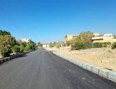 محافظة الجيزة تبدأ رصف البر الغربى من مثلث سقارة بالمريوطية بطول 2 كيلومتر
