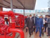 محافظ البحيرة يتفقد توسعات وتطوير محطتى مياه بأبو حمص بـ 426 مليون جنيه