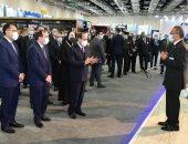 الرئيس السيسي يشهد افتتاح معرض تكنولوجيا تحويل وإحلال المركبات
