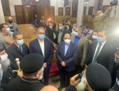 وزيرا السياحة والتنمية المحلية فى الغربية لإفتتاح مسار العائلة المقدسة بمصر  .. صور