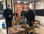 غلق 18 مقهى يقدم الشيشة وإزالة 150 إشغال بالدقى والبدرشين ومنشأة القناطر