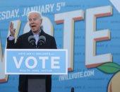 صور.. بايدن يبدأ حملته لدعم مرشحى الحزب الديمقراطى لمجلس الشيوخ فى جورجيا