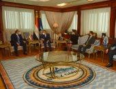 رئيس هيئة قناة السويس يشهد افتتاح فرع البنك الأهلى داخل مبنى الإرشاد بالإسماعيلية