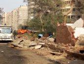 بدء المرحلة الثانية من تطوير شارع المحولات فى الهرم.. بث مباشر