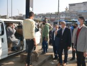 تحرير 340 محضر مخالفة لعدم إرتداء كمامات بالقليوبية اليوم