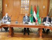 رئيس جامعة المنوفية يعقد الاجتماع الشهرى للجنة المنشآت الجامعية