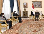 الرئيس السيسي يبحث التعاون الثنائى بين مصر وغانا فى مجالى التجارة والاستثمار