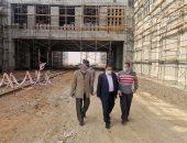 رئيس السكة الحديد يتفقد أعمال تطوير خط قطارات عين شمس - السويس.. صور