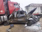 مصرع 25 وإصابة 1108 آخرين فى حوادث مرورية بالجزائر خلال أسبوع