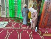 الأوقاف تواصل حملات تعقيم المساجد استعدادا لصلاة الجمعة