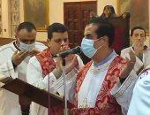 اقتصار الصلاة بالكنائس على الآباء وعدد من الشمامسة بكفر الشيخ