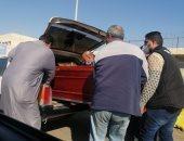 جثامين المتوفين المعتمرين تغادر مطار القاهرة فى طريقها لمثواها الأخير