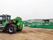 سكرتير الدقهلية تتابع تركيب معدات مصنع سندوب الجديد لتدوير المخلفات