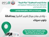 الصحة تعلن إطلاق قافلة طبية ضمن مبادرة حياة كريمة بجنوب سيناء غدا