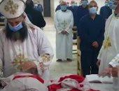 الداخلية تنظم احتفالات للسجناء الأقباط بمناسبة عيد الميلاد المجيد.. فيديو