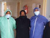 مستشفى الأقصر العام تشهد خروج 6 حالات شفاء وتعافى من كورونا