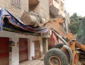 محافظة الجيزة ترفع 560 حالة إشغال و8 أكشاك مخالفة.. صور