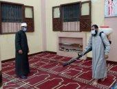 أوقاف دمياط تواصل حملات تطهير وتعقيم المساجد.. صور
