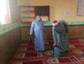 أوقاف شمال سيناء تكثف حملات التفتيش لمتابعة الإجراءات الوقائية بالمساجد
