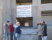 رئيس مدينة مرسى علم يتفقد إنشاء مبنى الضرائب العقارية الجديد.. صور