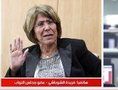 فريدة الشوباشى لتليفزيون اليوم السابع: أنا غير مؤهلة لأصبح رئيسة للبرلمان..فيديو