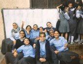 هبة مجدى تهنئ صديقتها آية مدنى لتعيينها بمجلس النواب بصورة من أيام المدرسة