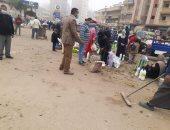 حملات لإزالة التعديات والمخالفات فى الدقهلية والبحيرة وكفر الشيخ