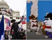 قبل حادثة اقتحام الكونجرس.. 6 أعمال فنية تنبأت بالفوضى فى أمريكا