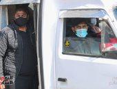تحرير 50 مخالفة عدم ارتداء الكمامة و25 مخالفة عبور خاطئ بمحطة قطار الزقازيق