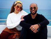 ظهور نادر لـ فؤاد شريف منير مع شقيقته أسما.. ووالدهما: ربنا يخليكو لى.. صور