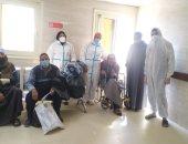 شفاء 13 حالة من كورونا بمستشفيات العديسات والأقصر العام.. صور