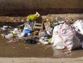 القابضة لمياه الشرب تصلح ماسورة صرف بجوار مدرسة الطبرى بمصر الجديدة