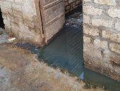 محافظة سوهاج تستجيب لشكوى أهالى الكولا بشأن غرق منازل بالمياه الجوفية
