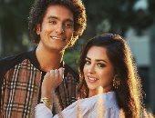 هبة مجدى ومحمد محسن في صور جديدة لهما من أحدث فوتوسيشن