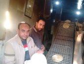 ضبط 9 مخابز بلدية مخالفة بمركز أبو حمص فى البحيرة