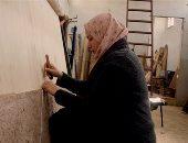 """""""من الساقية لقصر الإليزيه"""".. حكاية قرية مصرية أدهشت العالم بالسجاد"""