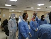 نائب محافظ المنيا يتابع الخدمة الطبية بمستشفى عزل ملوى.. صور