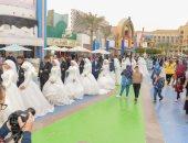 حفل زفاف جماعى لـ1050 فتاة يتيمة بالقرى الأكثر احتياجًا فى الغربية.. صور