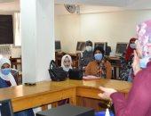 دورات تدريبية لتعلم لغة الإشارة لخدمة الفئات الخاصة لأول مرة بجامعة سوهاج.. صور