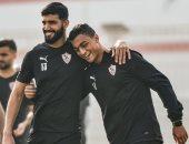 كواليس جلسة باتشيكو مع لاعبى الزمالك.. وانتظام ساسى ومصطفى محمد فى التدريب