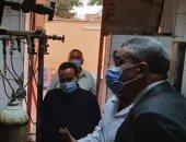 انتظام توافر الأكسجين بمستشفى التأمين الصحي ببنى سويف للعزل