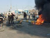 اشتباكات عنيفة بين الشرطة العراقية ومحتجين فى الناصرية والجيش يتدخل.. فيديو