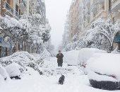 إغلاق 20 مدرسة فى إسبانيا بسبب العواصف الثلجية