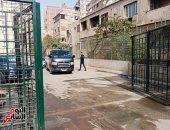 خروج جثمان الفنان الراحل هادي الجيار من مستشفى الهرم إلى مثواه الأخير