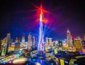 الليزر الموسيقى يزين الإمارات.. دبى تمد الاحتفالات حتى نهاية مارس..ألبوم صور