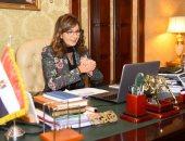 وزيرة الهجرة تستعرض تقريرا حول انتهاء أزمة العالقين المصريين بالإمارات