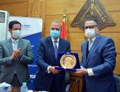 جامعة بنها تنظم احتفالية تكريم للدكتور جمال السعيد بحضور المحافظ.. صور